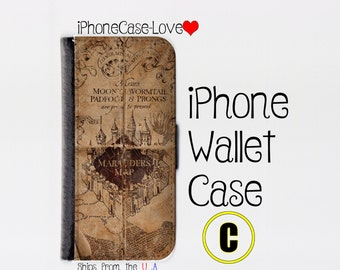 iphone 5 wallet case , iphone 5s wallet case , iphone 5c wallet case , iphone 5 case , iphone 5s case , iphone 5c case - Harry Potter C