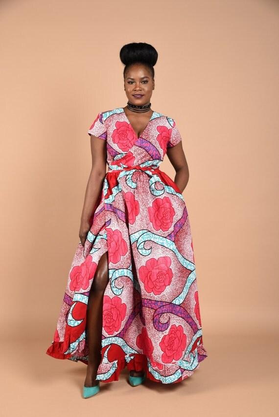 Lia-Cozy Wrap Dress.