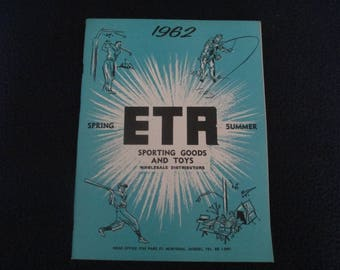 One ETA sporting goods and toys catalog,spring and summer of 1962