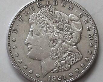 1921 s Morgan Silver Dollar - sku 3174b31