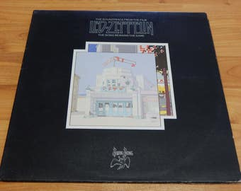 Led Zeppelin The Song Remains the Same 2 lp soundtrack Vinyl Record LP album jimmy page robert plant