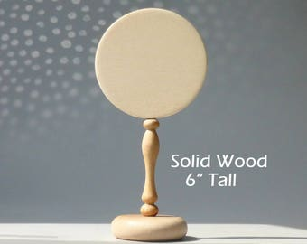 """Blank Table Numbers, DIY Table Numbers Holders/ DIY Wedding Table Decor, Unfinished Wood Signs  6"""" Tall 1 pce"""