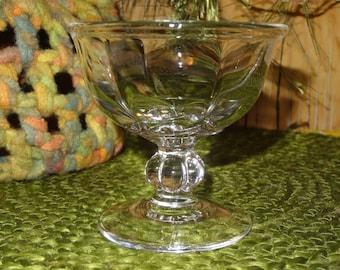 Set of 6 Dessert Cups / Glass Dessert Cups / Large Dessert Cups