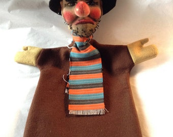 Vintage Kersa Hand Puppet Made in Germany