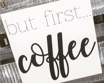 But First, Coffee {Most Loved!}