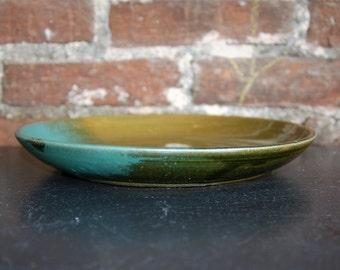 Dinner Set: Dinner Plate - Olive & Turquoise