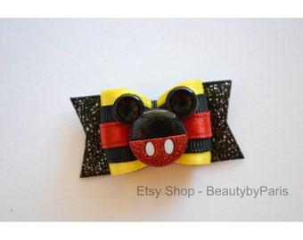 """Mickey 7/8"""" Dog Bow"""
