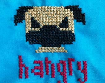 Hangry Fawn Pug Bandana