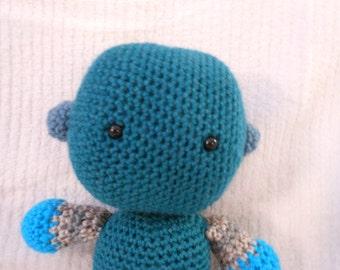 Gus the Crocheted Robot for Children