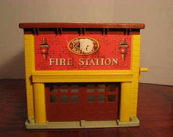 Vintage Fisher Price Fire House