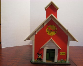 Vintage Fisher Price School House (B)