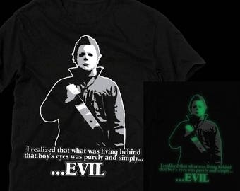 Halloween:Michael Myers Glow in the Dark T-shirt