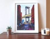 Print: DUMBO Painting (Framed)