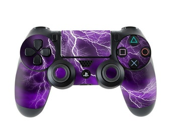 Sony PS4 Controller Skin Kit - Apocalypse Violet - DecalGirl Decal Sticker