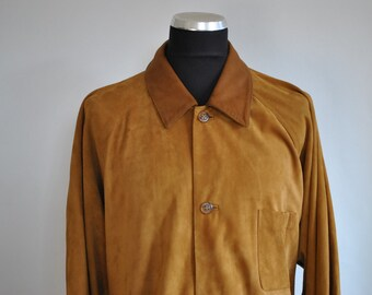 Vintage NAPA SUEDE LEATHER men's jacket ...............