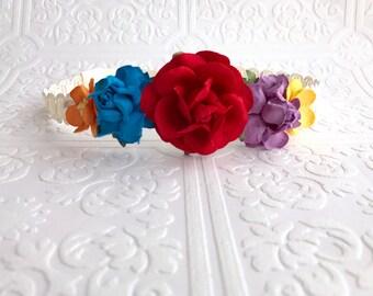 The Fiesta Juliet Floral Crown