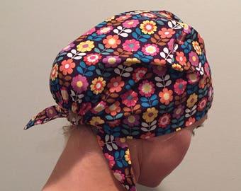 Floral • pixie tie back