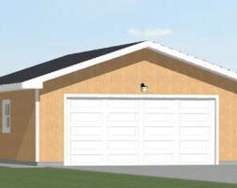 Items similar to 36x40 apartments with 1 car 1 rv garages for 32x40 garage plans