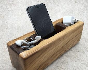 Wooden Desk Cadddy