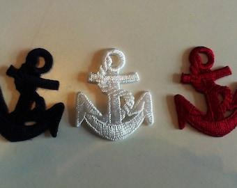Iron anchor various versions