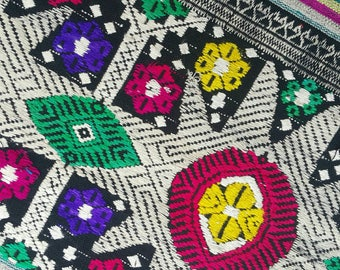 Hmong hand embroidered cotton (H225)