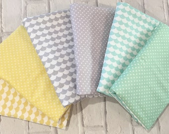 Cot Bar Bumpers - choose your fabric - Cot Bedding, Nursery Decor