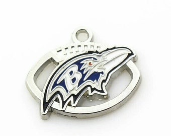 Baltimore Ravens Charm-Qty:1 Check out shop page for Coupon Codes