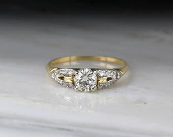 1940s wedding ring