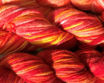 Awesome Treat  Hand-Dyed 100% Australian Wool, 8 ply DK