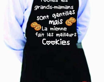 cooking apron GRANDMA COOKIES TB01
