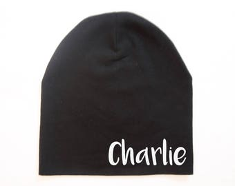 Personalised Baby Beanie Hat