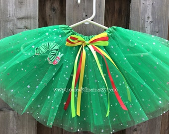 Caterpillar tutu Caterpillar outfit Caterpillar green tutu Caterpillar birthday outfit party dress green sparkle tutu Caterpillar dress