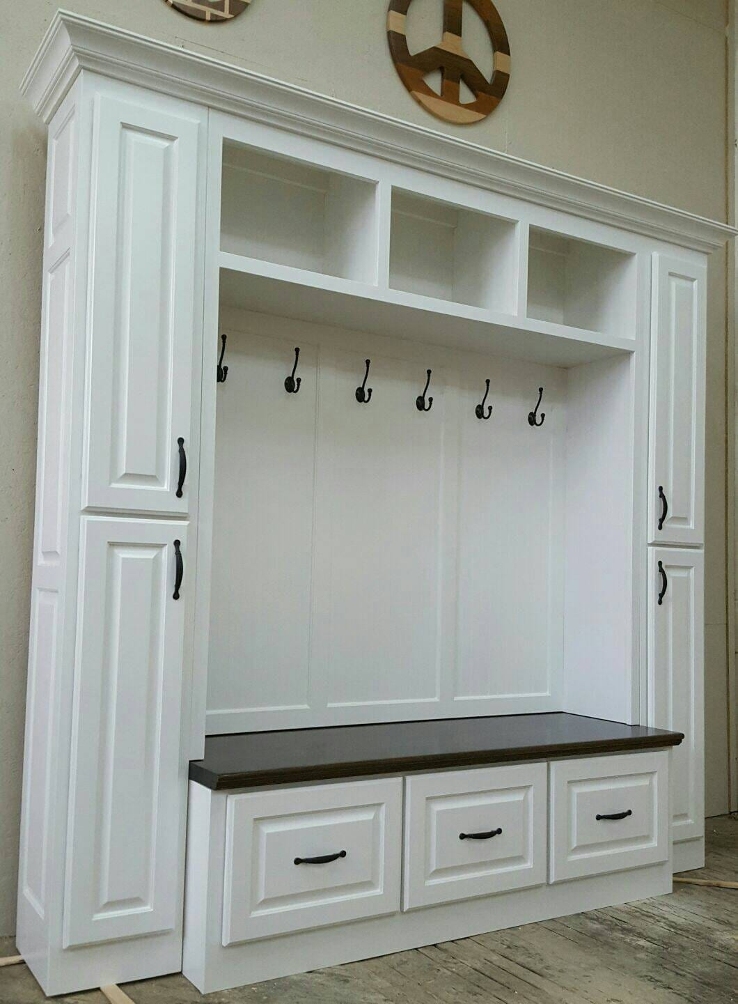 The Philadelphia Mudroom Lockers Bench Storage Furniture