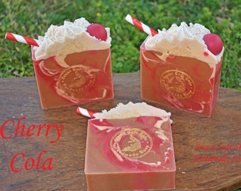 Cherry Cola Soap Bar