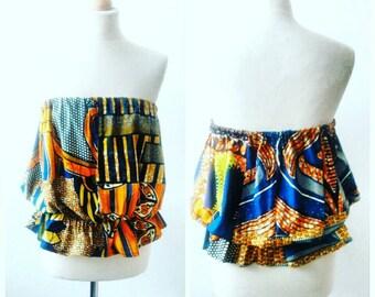 Ankara Top African Clothing African Print Top African Fashion African Top African Fabric African Blouse Ankara Blouse Ankara Fashion