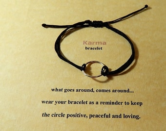 Good Karma Eternity Circle Bracelet