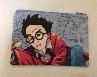 Harry Potter inspired zip bag.