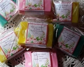 50 Customized Soap Favors