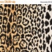 Velvety Cotton Leopard Print Fabric Braemore Jamil Natural Home Decor Fabric - By the Yard