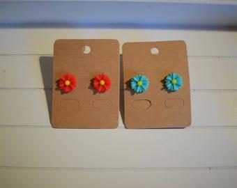 Handmade Daisy Stud Earrings