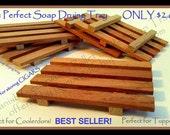 Sale! BEST SELLER! AROMATIC Spanish Cedarwood Pallet Style Trays-Use for Soaps, Cigar Tupperdor/Coolerdor, Dresser Drawers. Etc.