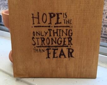 Hope wall Piece