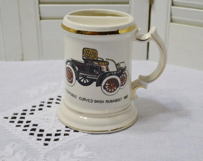 Vintage Moustache Mug Oldsmobile Dash Old Fashioned Car PanchosPorch