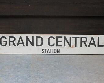 Grand Central Station Sign