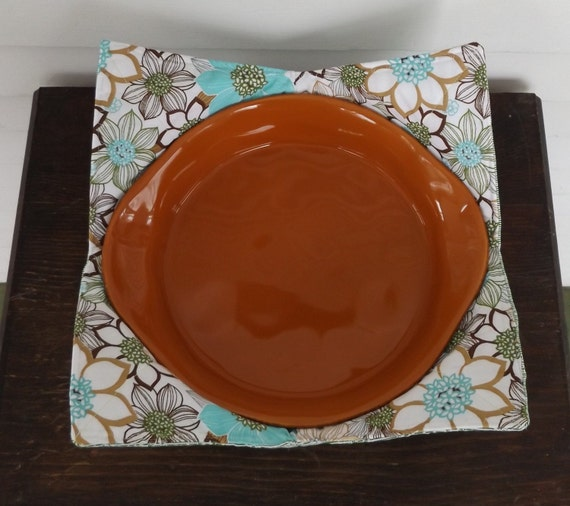 Bowl Pot Holder: Extra Large Handmade Quilted Pot Holder Bowl Cozy Bread