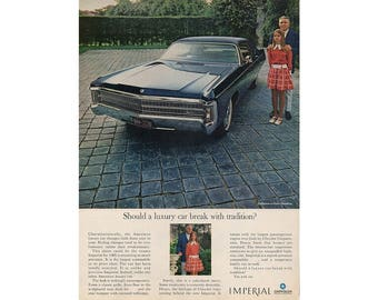 Vintage  magazine ad for 1969 Chrysler Imperial
