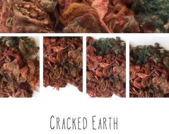 Beautiful English Shetland hand dyed fleece - 2oz *spinning * weaving * felting