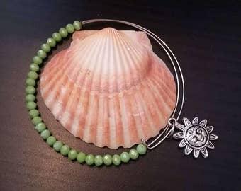 Memory bracelet Style with Handmade Hippie Boho Gypsy Crystal