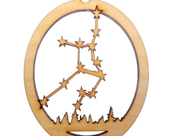 Virgo Constellation Ornament - Personalized Free