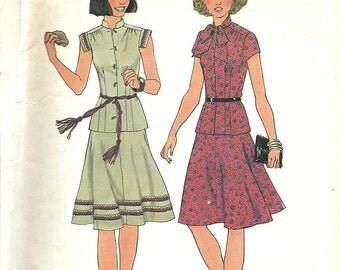 Simplicity 7481       Misses 2-Piece Dress       Size 10    Uncut
